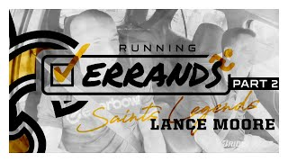 Lance Moore Talks Life After Football | Running Errands with Saints Legends | Ep. 2