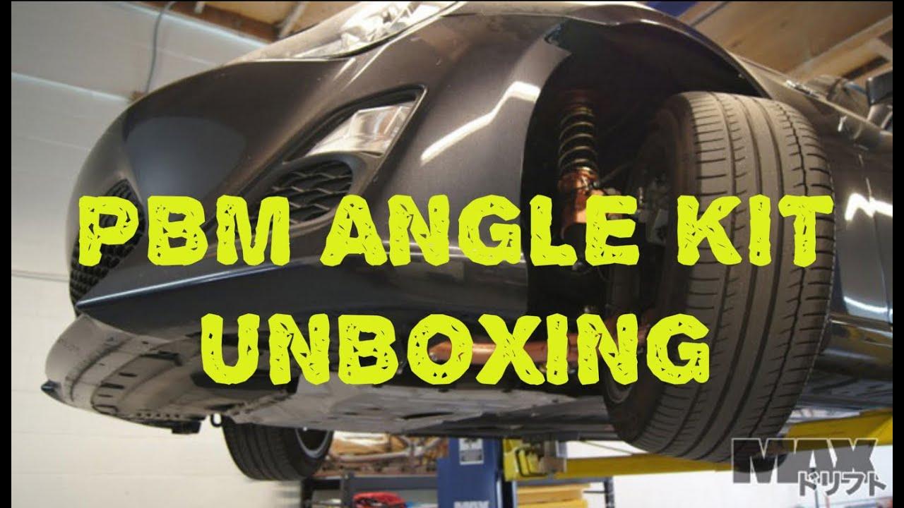 PBM Angle Kit Unboxing | Scion FRS