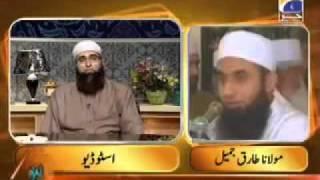 Maulana Tariq Jameel live call on Geo tv with Junaid Jamshaid. Must listen