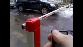 Пульт для автоматического шлагбаума(Приобрести ПУЛЬТ ДУ в Донецке Пульт подходит к шлагбаумам марки: Gant (Гант), Professional, BS 806/306., 2014-02-16T20:07:29.000Z)
