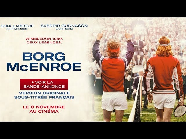 Borg/McEnroe - Bande-annonce VOSTF