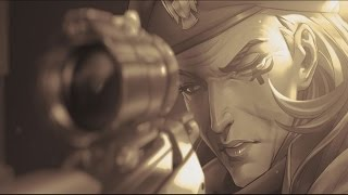 Overwatch Ana Cinematic Story Trailer and Gameplay