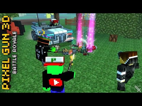 EPIC TEAM WIN (Лэва Хэва HAPPY BIRTHDAY) Pixel Gun 3D BATTLE ROYALE