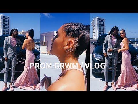 prom-grwm-/-vlog-2k19