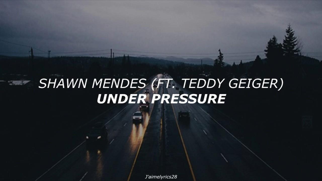 Under Pressure (Traducción al Español) - Shawn Mendes ft  Teddy