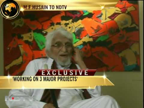 Husain speaks exclusively to NDTV