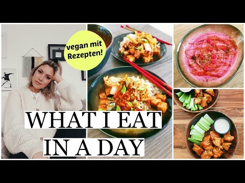 Buffalo Wings, Korean Style Tofu & Neues Frühstück! | What I Eat In A Day VEGAN