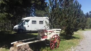 Pres de Font romeu à Formigueres 66 camping en montagne