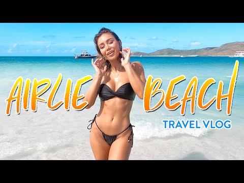 WE FOUND THE BEST BEACH IN AUSTRALIA! - Airlie Beach, Whitsundays, Queensland