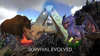 ARK SURVIVAL EVOLVED: RAGNAROK EASY BOSS FIGHT! Dragon & Manticore