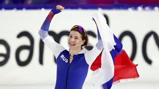 Ольга Фаткулина стала первой на дистанции 500 м на чемпионате Европы по конькобежному спорту