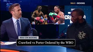 Terence Crawford ORDERED to Fight Shawn Porter NEXT by the WBO: PURSE—BID within 30 Days if NO—DEAL