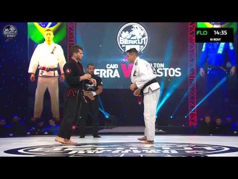 Caio Terra vs Milton Bastos at Berkut Jiu Jitsu 2