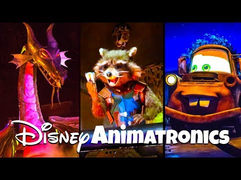 Top 10 Must See Animatronics at Disneyland!