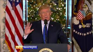President Trump praises tax cut plan, while USCCB shares concerns - ENN-2017-12-13