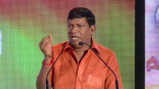There Is No GAPu Or Aappu I'm Always Topu - Vadivelu Comedy Speech At Kathi sandai Audio Launch