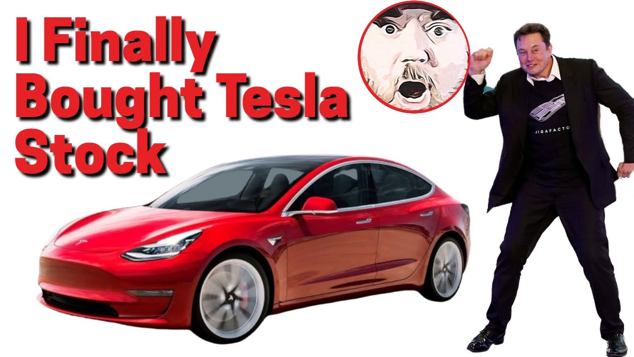 I Finally Gave In And Bought Tesla (TSLA) Stock
