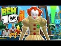 watch he video of BEN 10 ARRIVAL OF ALIENS ON ROBLOX - IT Clown PENNYWISE vs. Every Alien vs. Fandroid