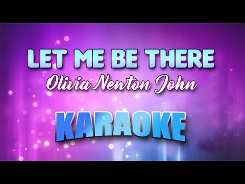Olivia Newton John - Let Me Be There (Karaoke version with Lyrics)