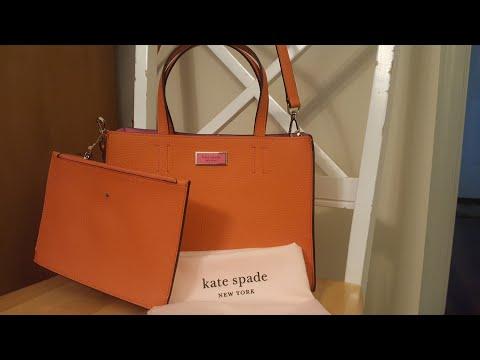 Kate Spade Medium Satchel Unboxing