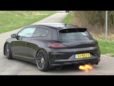 350 HP VW Scirocco with Straight Pipe - LOUDEST SCIROCCO EVER?