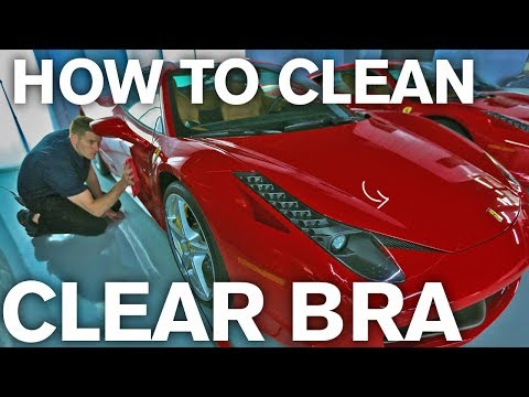 How to Wax your Car's Clear Bra