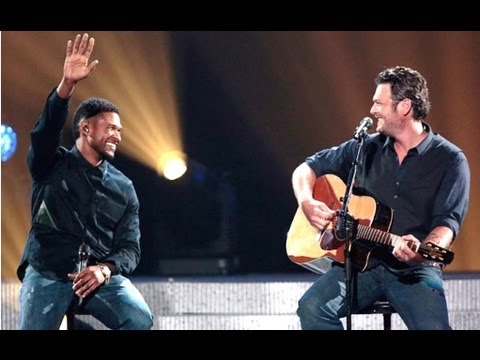 "BLAKE SHELTON & USHER DUET MICHAEL BUBLE ""HOME"" & MIRANDA LAMBERT IN TEARS"