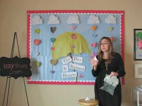 Valentine S Day Bulletin Board Idea Youtube