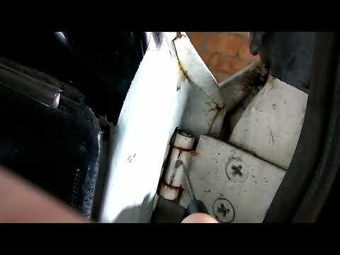 Ремонт дверных петель ВАЗ 2101