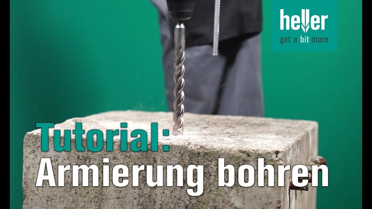 tutorial in armierten beton bohren hellertv trijet hammerbohrer stahlbeton bohren youtube. Black Bedroom Furniture Sets. Home Design Ideas