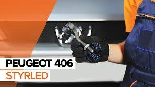 Hur och när byter man Yttre styrled PEUGEOT 406 Break (8E/F): videohandledning