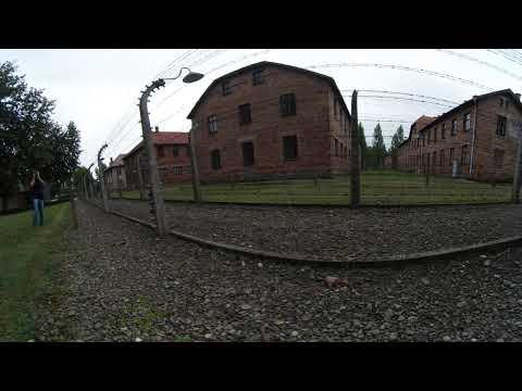 360º VR video. Visita a Auschwitz-Birkenau. Agosto de 2017