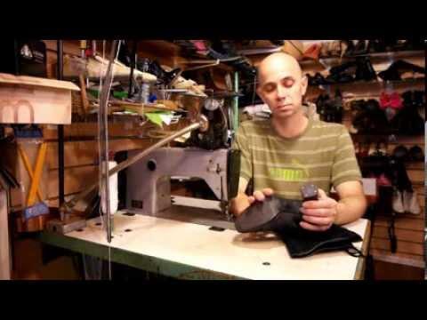 Видео Ремонт кожаных изделий