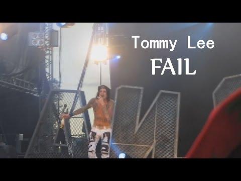 Tommy Lee + Motley Crue Final Show Drum Solo Fail2015┃RockStar FAIL