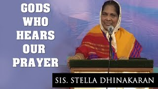 Gods who Hears our Prayer (Tamil) Sis. Stella Dhinakaran
