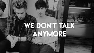 we don't talk anymore || cake