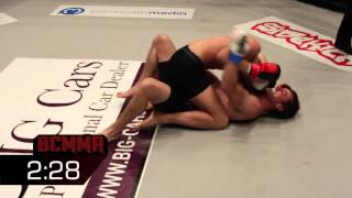 BCMMA#12 Christoffer Darre Vs Danny Joel - Amateur 135lbs Bantamweight Title Contest