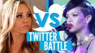 Amanda Bynes Attacks Rihanna on Twitter