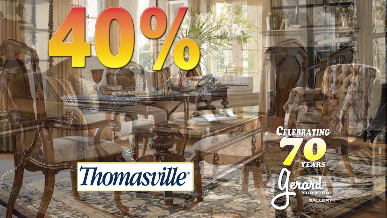 Gerard Furniture Memorial Day Sale 2016