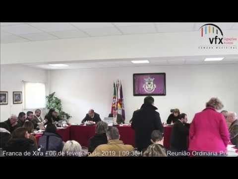 Reunião ordinária e pública da CMVFX (06/02/2019 - Calhandriz)
