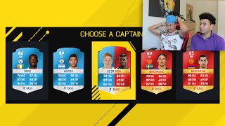 MAN UNITED PAUL POGBA Vs KDB FUT DRAFT!!
