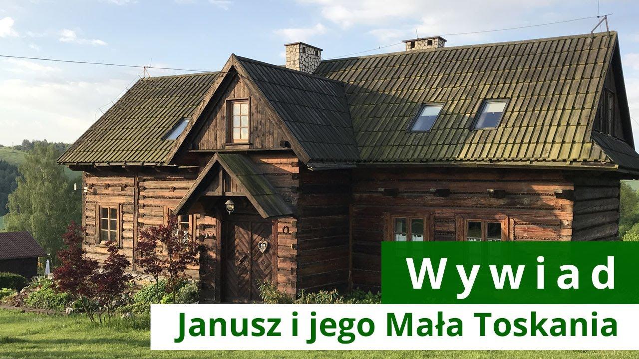 Download Dom z bali przekształcony w spełnienie marzeń, czyli Mała Toskania w Polsce.