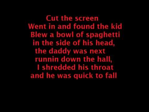 ICP - In My Room Lyrics