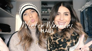 WINTER WARMERS HAUL - HATS, GLOVES, SCARVES TRY-ON | WE ARE TWINSET