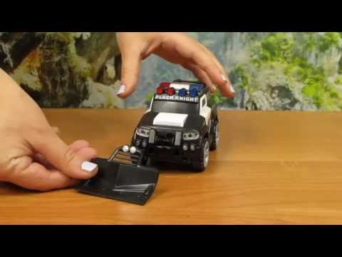 Dickie Toys - Rescue Car Police State Trooper - Mini Action