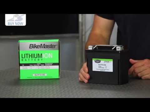 BikeMaster Lithium Ion Battery | Motorcycle Superstore