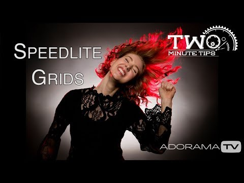 Speedlite Grids: Two Minute Tips With David Bergman