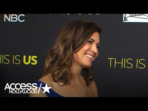 'This Is Us': Mandy Moore On Rebecca & Miguel's Relationship | Access Hollywood