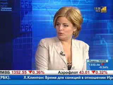 Гендиректор ООО «Газпром энергохолдинг» Денис Федоров в программе «Компании» телеканала РБК-ТВ