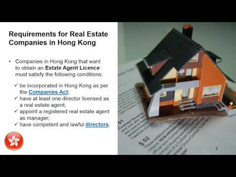 Open a Real Estate Agency in Hong Kong